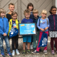 Danube Day 2017 in Germany: young winners of the Danube Art Master contest in Schloss Grünau.